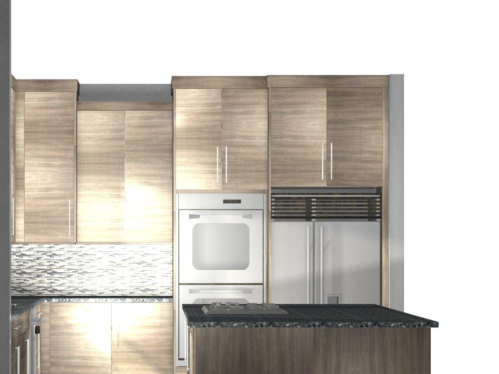 Barker Modern Cabinet Vision - 0425