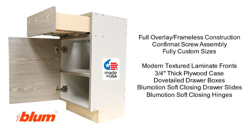 Custom Cabinet specifications
